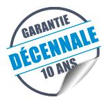 Logo Garantie Décennale 10 ans